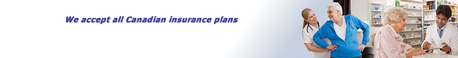 We Accept All Canadian Insurance Plans